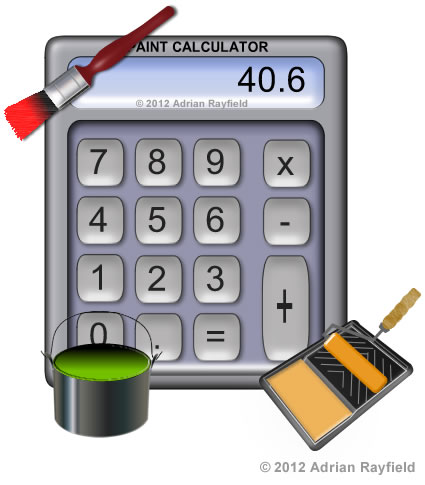 Paint calculator diy by design diy tips blog Interior trim paint calculator